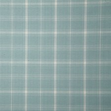 Aqua Check Drapery and Upholstery Fabric by Pindler