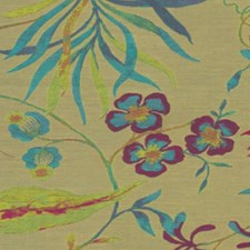 Exotic Blo Drapery and Upholstery Fabric by RM Coco