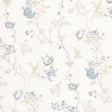 Antique Blue Drapery and Upholstery Fabric by Ralph Lauren