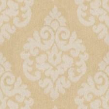 Custard Ikat Drapery and Upholstery Fabric by Kravet