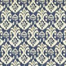 Ocean Blue Drapery and Upholstery Fabric by Kasmir