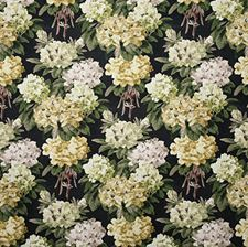 Midnight Traditional Drapery and Upholstery Fabric by Pindler
