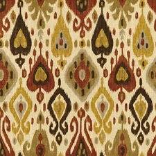 Beige/Brown/Yellow Ikat Drapery and Upholstery Fabric by Kravet