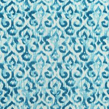 Turquoise Drapery and Upholstery Fabric by Maxwell