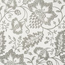 Grey/Silver/Offwhite Traditional Drapery and Upholstery Fabric by JF