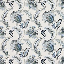 Blue Sky Drapery and Upholstery Fabric by RM Coco