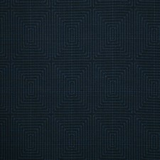 Indigo Damask Drapery and Upholstery Fabric by Pindler