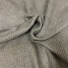 Gray Plain Drapery and Upholstery Fabric by JF