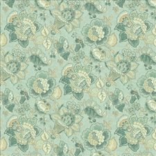Seafoam Drapery and Upholstery Fabric by Kasmir
