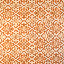 Roasted Orange Drapery and Upholstery Fabric by Silver State