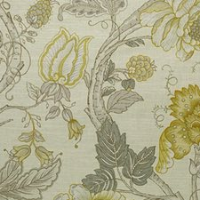 Yellow Drapery and Upholstery Fabric by RM Coco