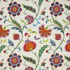 Multi Embroidery Drapery and Upholstery Fabric by Baker Lifestyle