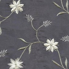 Copen Embroidery Drapery and Upholstery Fabric by RM Coco