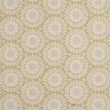 Ivory/Biscuit Print Drapery and Upholstery Fabric by Baker Lifestyle