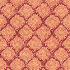 Fuchsia Small Scales Drapery and Upholstery Fabric by Baker Lifestyle