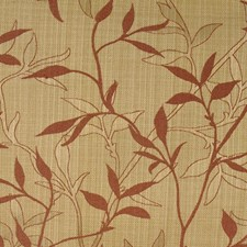 Burgundy/Red/Yellow Traditional Drapery and Upholstery Fabric by JF