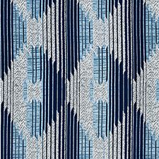 Ozone Blue Drapery and Upholstery Fabric by Scalamandre