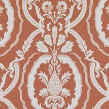 Coral Drapery and Upholstery Fabric by Duralee