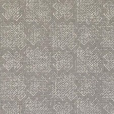 Steel Ethnic Drapery and Upholstery Fabric by Duralee