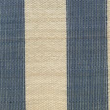 Cream/Blue Drapery and Upholstery Fabric by Scalamandre