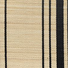 Black/Beige Drapery and Upholstery Fabric by Scalamandre