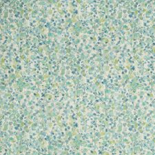 Blue/Green/Beige Botanical Drapery and Upholstery Fabric by Kravet
