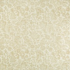 Ochre Botanical Drapery and Upholstery Fabric by Kravet