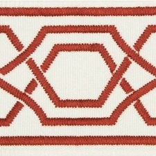 Tapes Red Trim by Lee Jofa