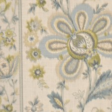 Blue Citrine Drapery and Upholstery Fabric by RM Coco