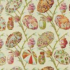 Spring Ethnic Drapery and Upholstery Fabric by Kravet