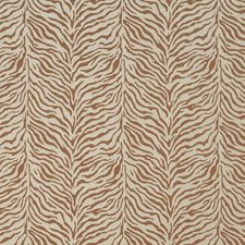 Spice Animal Skin Drapery and Upholstery Fabric by Kasmir