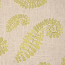 Chartreuse Drapery and Upholstery Fabric by RM Coco