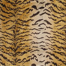 Brown/Gold Drapery and Upholstery Fabric by Scalamandre
