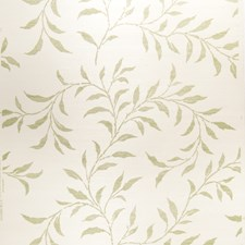 Green On Oyster Leaves Wallcovering by Stroheim Wallpaper