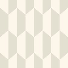 White and Stone Print Wallcovering by Cole & Son Wallpaper