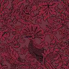 Velvet Red Print Wallcovering by Cole & Son Wallpaper