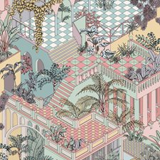Pastel Print Wallcovering by Cole & Son Wallpaper
