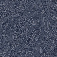 Midnight/Silver Print Wallcovering by Cole & Son Wallpaper