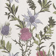 Lilac/Cerise/White Print Wallcovering by Cole & Son Wallpaper