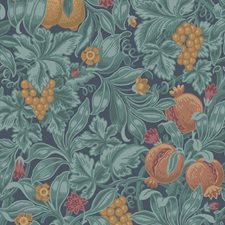 Oran/Teal Botanical Wallcovering by Cole & Son Wallpaper