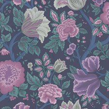 Mulb/Teal Botanical Wallcovering by Cole & Son Wallpaper