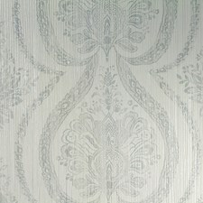 Green/Grey/Silver Transitional Wallcovering by JF Wallpapers