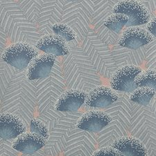 Soft Blue Wallcovering by Maxwell
