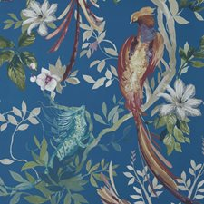 Royal Blue Wallcovering by Maxwell