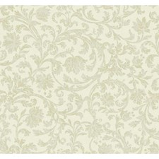 White Sidewall Wallcovering by York