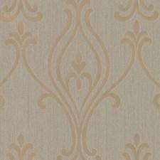 Gold Modern Wallpaper Wallcovering by Brewster