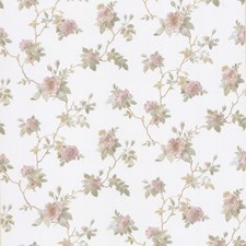 Pink Traditional Wallpaper Wallcovering by Brewster