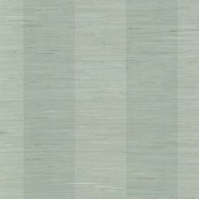 Aqua Stripe Wallcovering by Brewster
