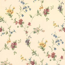 414-38533 Yelena White Midscale Floral by Brewster