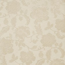 Taupe Floral Wallcovering by Fabricut Wallpaper